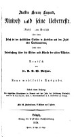 Niniveh und seine Ueberreste PDF
