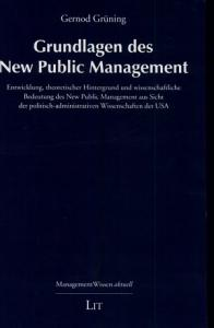 Grundlagen des New public Management PDF