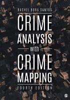 Crime Analysis with Crime Mapping PDF