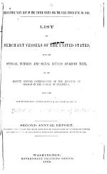 List of Merchant Vessels of the United States, with the Official Numbers and Signal Letters Awarded to Them