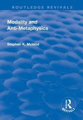 Modality and Anti-Metaphysics