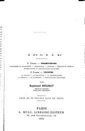 Manuel pratique de la culture des champignons et de la truffe: champignons .... truffes ..., Volume1,Partie2