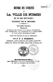 Histoire des antiquités de la ville de Nisme et de ses environs: extrait