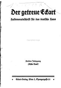 Der Getreue Eckart PDF