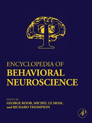 Encyclopedia of Behavioral Neuroscience PDF