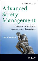 Advanced Safety Management Focusing on Z10 and Serious Injury Prevention PDF