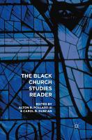 The Black Church Studies Reader PDF