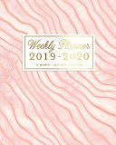 Download Weekly Planner 2019   2020  12 Month  July 2019   June 2020 Book
