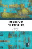 Language and Phenomenology PDF