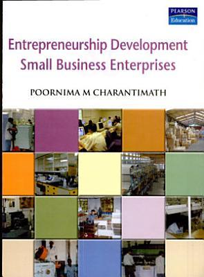 Entrepreneurship Development and Small Business Enterprise