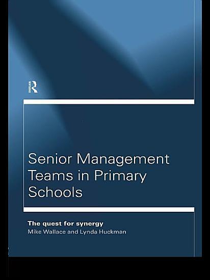Senior Management Teams in Primary Schools PDF