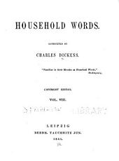 Household Words: Volume 8