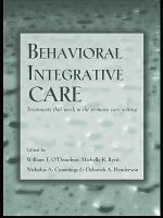 Behavioral Integrative Care