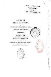Annali dell'Istituto di corrispondenza archeologica