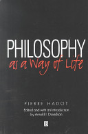 Philosophy as a Way of Life PDF