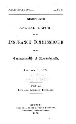 Annual Report of the Insurance Commissioner PDF