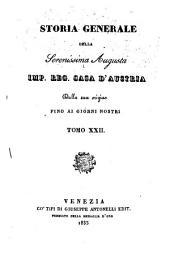 Storia generale della ... imp. reg. casa d'Austria dalla sua origine fino ai giorni nostri: Volume 8