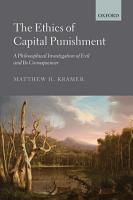 The Ethics of Capital Punishment PDF