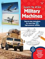 Learn to Draw Military Machines PDF