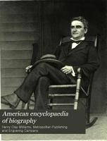 American Encyclopaedia of Biography PDF