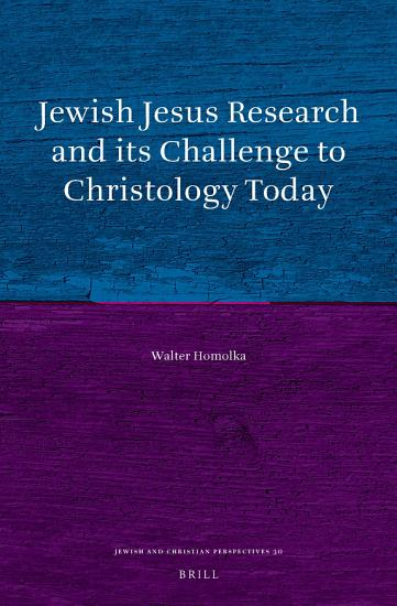 Jewish Jesus Research and its Challenge to Christology Today PDF
