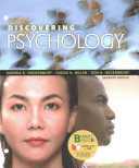 Loose-leaf Version for Discovering Psychology