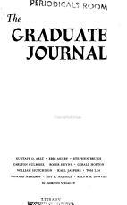 The Graduate Journal PDF