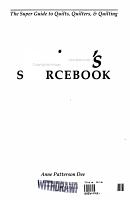 Quilter s Sourcebook PDF