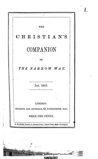 The Christian s companion in the narrow way PDF