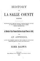 History of LaSalle County  Illinois PDF