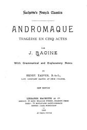 Andromaque: tragédie en cinq actes