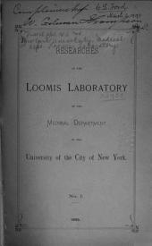 Researchers of the Loomis Laboratory: Volumes 1-2