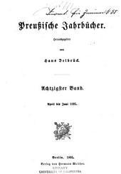 Preussische Jahrbücher: Band 80