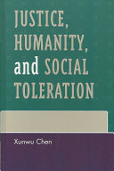 Justice  Humanity  and Social Toleration PDF