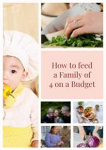 How to feed a family of 4 on a Budget