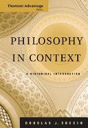 Philosophy in Context