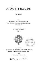 Pious Frauds: A Novel