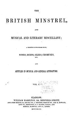 The British Minstrel  and Musical and Literary Miscellany PDF