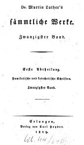 Sämmtliche Werke: Homiletische und katechetische Schriften: Vermischte Predigten : fünfter Band, Band 20