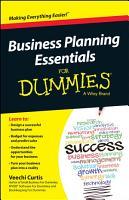 Business Planning Essentials For Dummies PDF