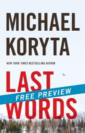 Last Words -- Free Preview -- The First 9 Chapters