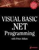Visual Basic Net Programming with Peter Aitken PDF