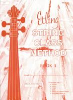 Etling String Class Method  Book 1 PDF