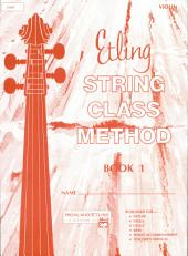 Etling String Class Method, Book 1: Book 1