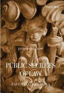 Public Secrets of Law