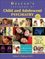 Dulcan s Textbook of Child and Adolescent Psychiatry PDF