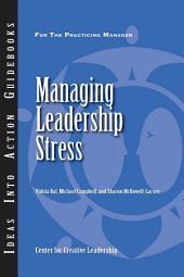 Managing Leadership Stress