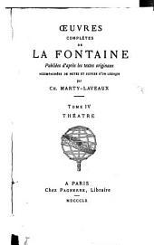 Oeuvres complètes: Théâtre, Volume4