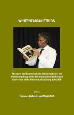 Whiteheadian Ethics