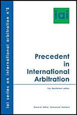 Precedent in International Arbitration PDF